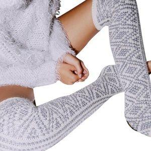 NWT Free people leg warmers